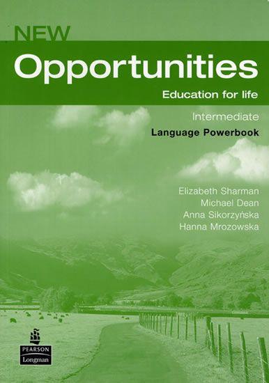 Dean Michael: New Opportunities Global Intermediate Language Powerbook Pack