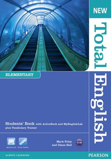 Hall Diane: New Total English Elementary Students´ Book with Active Book and MyLab Pack