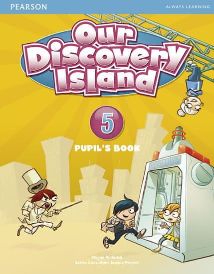 Roderick Megan: Our Discovery Island 5 Pupil´s Book