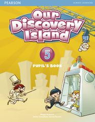 Roderick Megan: Our Discovery Island  5 Student´s Book plus pin code