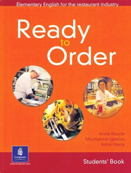 Baude Anne: English for Tourism: Ready to Order Student Book