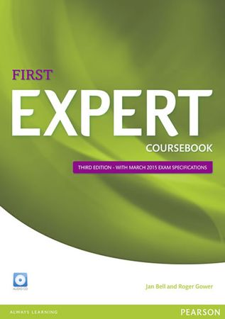 Bell Jan: Expert First 3rd Edition Coursebook with CD Pack