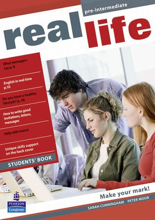Cunningham Sarah: Real Life Global Pre-intermediate Students Book