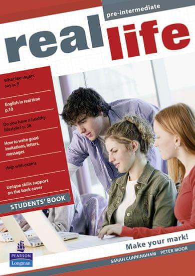 Cunningham Sarah: Real Life Global Pre-intermediate Students Book