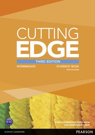 Cunningham Sarah: Cutting Edge 3rd Edition Intermediate Students´ Book and DVD Pack