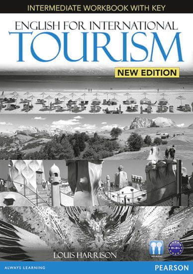 Harrison Louis: English for International Tourism Intermediate New Edition Workbook with Key and Aud