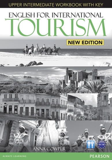 Cowper Anna: English for International Tourism Upper Intermediate New Edition Workbook with Key and