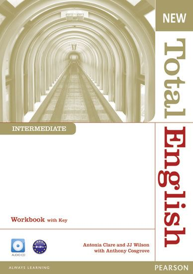 Cosgrove Anthony: New Total English Intermediate Workbook with Key and Audio CD Pack