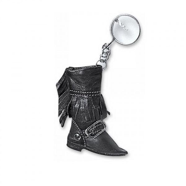 Held přívěsek - kožená bota, černý
