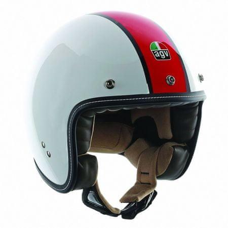 AGV motocyklová jet prilba  RP60 B4 De Luxe