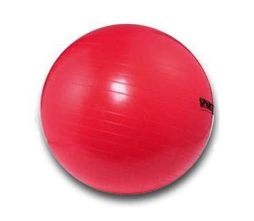 Spartan žoga za vadbo, 75 cm, rdeča