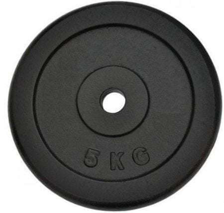 Spartan litoželezna kolutna utež, 2 x 5 kg