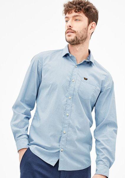 s.Oliver pánská košile XXXL modrá