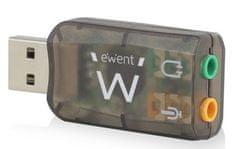 Ewent USB zvočna kartica Virtual 5.1 3D