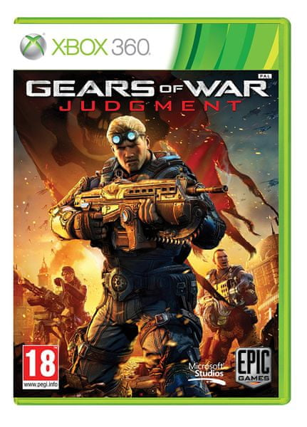 Microsoft Gears of War: Judgment / Xbox 360