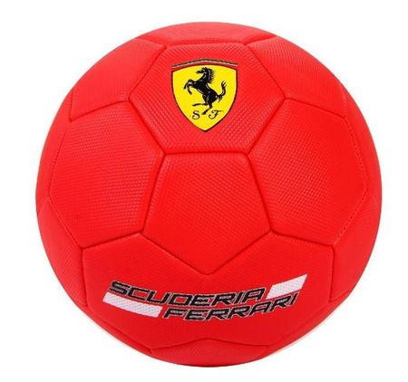 Ferrari nogometna žoga F666, rdeča
