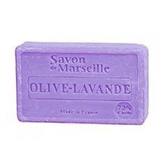 Luxusní francouzské přírodní mýdlo Oliva a levandule 100 g