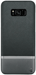 Uunique Kryt Saffiano/Perforated (Samsung Galaxy S8), černá - rozbaleno