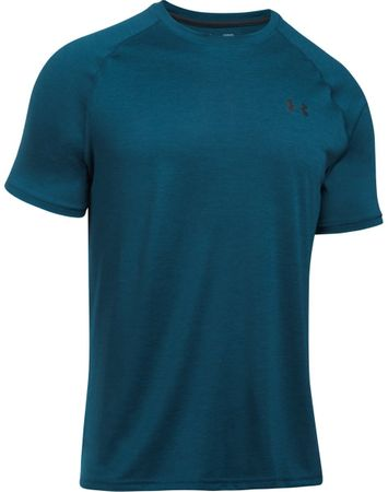 Under Armour športna majica s kratkimi rokavi Tech SS Tee True Ink Anthracite, temno modra, XXL