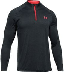 Under Armour športna majica z dolgimi rokavi Tech 1/4 Zip Anthracite Marathon Red