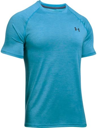 Under Armour športna majica s kratkimi rokavi Tech SS Tee Blue Shift Stealth Gray, sivomodra, XXL