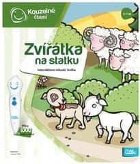 Albi KÚZELNÉ ČÍTANIE Kniha Zvieratká na statku - česká verzia