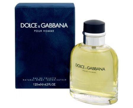 Dolce & Gabbana toaletna voda za moške Pour Homme 2012, 75 ml