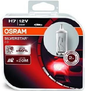 Osram 12V H7 55W PX26d 2ks Silverstar