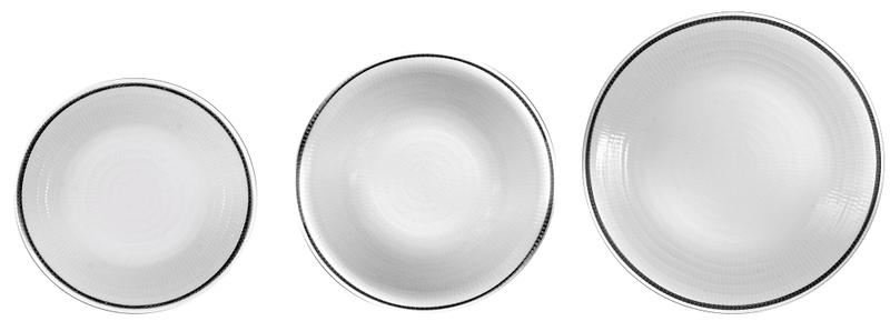 Pierre Cardin Sada porcelánového nádobí 18ks Fossil