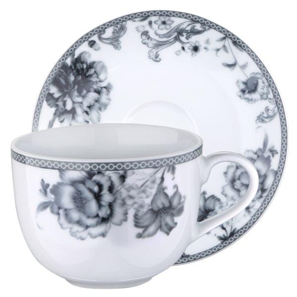 Pierre Cardin Brunchfield Sada porcelánových hrnků na čaj 4ks Olivia