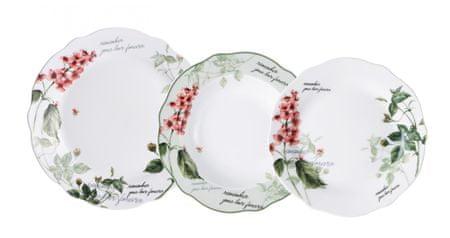 Pierre Cardin Brunchfield Sada porcelánového nádobí 18ks Remember