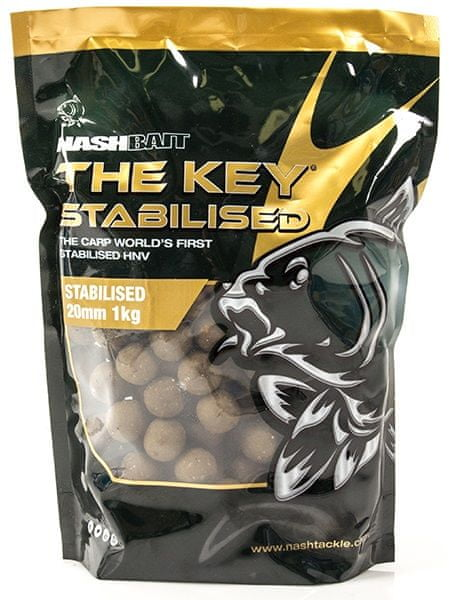 Nash Boilie The Key Stabilised Boilies 1 kg, 10 mm