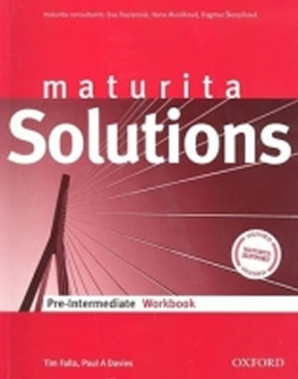 Falla Tim: Maturita Solutions Pre-Intermediate Workbook CZ