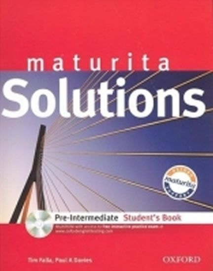 Falla Tim: Maturita Solutions Pre-Intermediate Student´s Book with MultiROM Pack CZ