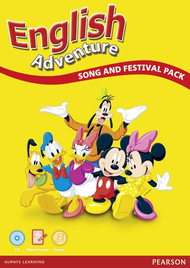 Lambert Viv, Worral Anne: English Adventure: Song and Festival Pack (WBK, Audio CD)
