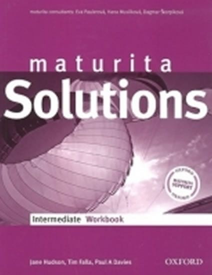 Falla Tim, Davies Paul A.: Maturita Solutions Intermediate WorkBook