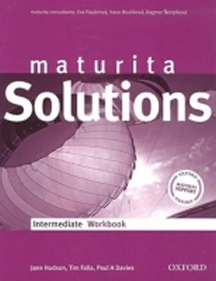 Falla Tim, Davies Paul A.: Maturita Solutions Intermediate WorkBook