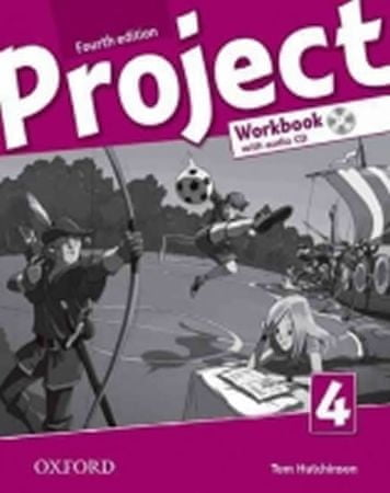 Hutchinson Tom: Project Fourth Edition 4 Workbook with Audio CD (International English Version)