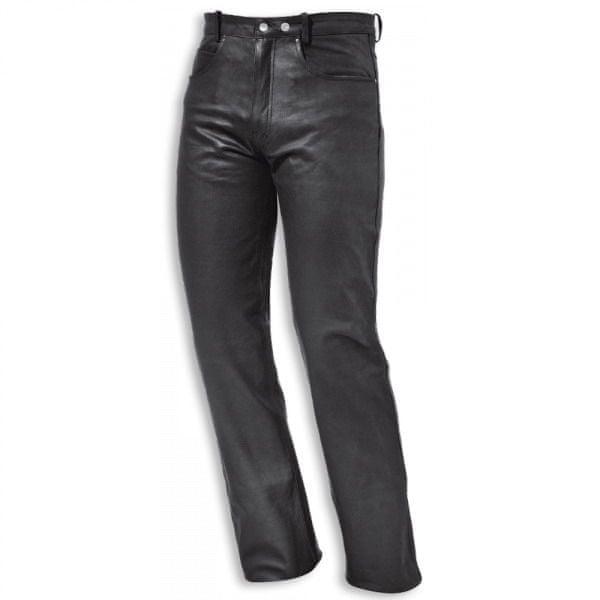 Held kalhoty COOPER vel.56, černé, kůže