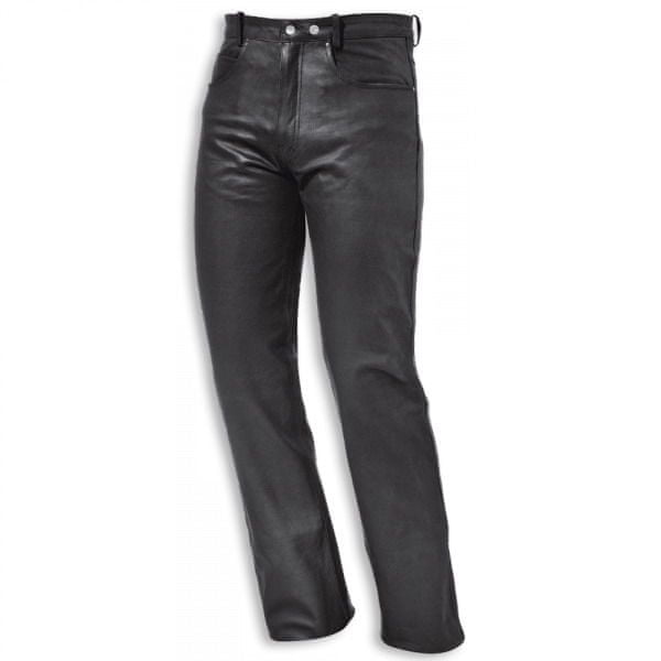 Held kalhoty COOPER vel.58, černé, kůže