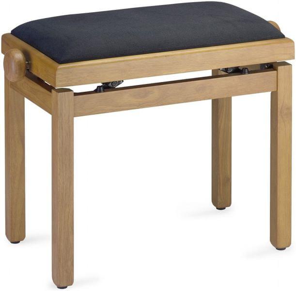Stagg PB39 NATM VBK Klavírní stolička