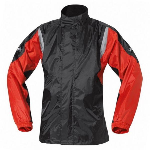 Held nepromokavá bunda MISTRAL II vel.XL, černá/červená, textilní