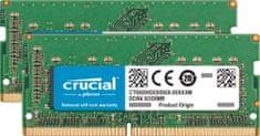 Crucial RAM SODIMM DDR4 32GB Kit (2x 16) , PC4-19200, 2400MT/s, CL17, SR x8 za Mac