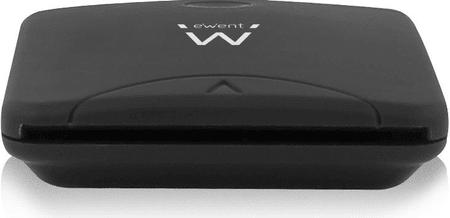 Ewent čitalec pametnih kartic USB 2.0, črn