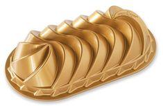 Nordic Ware Forma na chlebíček, Heritage, zlatá