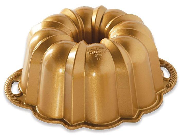 Nordic Ware Velká forma na bábovku, Anniversary, zlatá