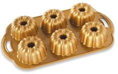 NordicWare Forma na minibabovky Anniversary, plát se 6 formičkami
