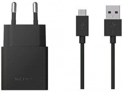 Sony Nabíječka UCH12 + Datový kabel UCB20 (USB-C), černá