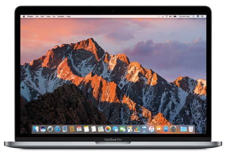 Apple prenosnik MacBook Pro 13 Retina/DC i5-2,3GHz/8GB/128GB SSD/Intel Iris Plus 640/SLO KB, siv (mpxq2cr/