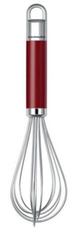 KitchenAid metlica za stepanje, rdeča/siva